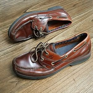 Timberland Men's BrownLeather Loafers Oxford Shoes